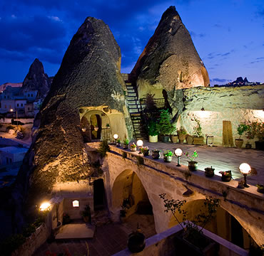 Kelebek special cave hotel goreme cappadocia travel jots for Special hotels in the world