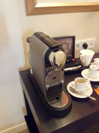 Coffee any time at Hotel Balmoral Paris