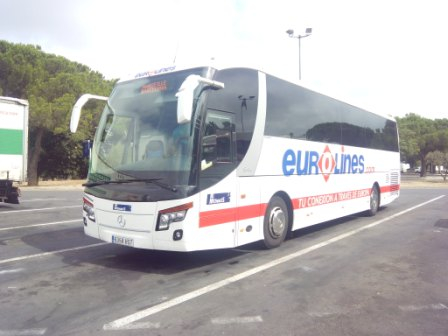 Eurolines Barcelona from France
