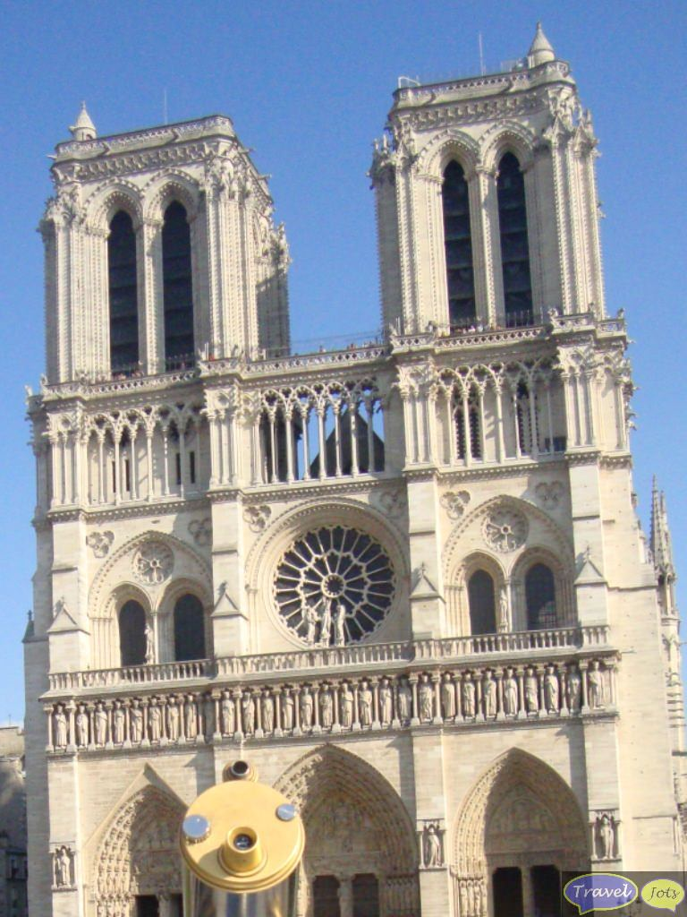 Notre Dame Cathedral at Paris, France