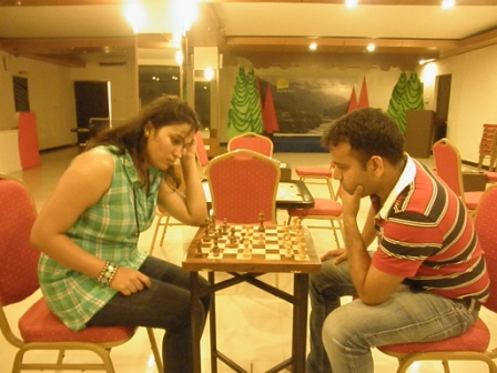 Chess at Fun Zone club mahindra