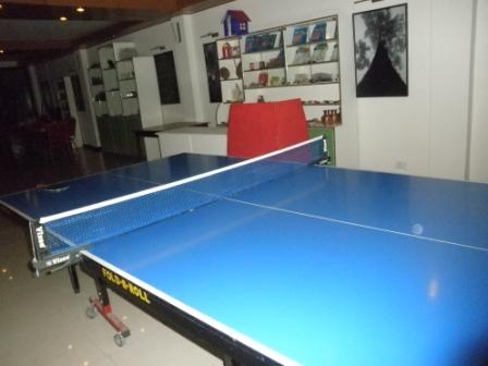 Table Tennis at Fun Zone Club Mahindra Baiguney