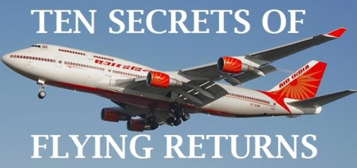 Air India Flying Returns, photo credit : Wikipedia link provided below in post