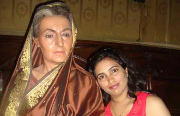 Me with most self reliant women of India