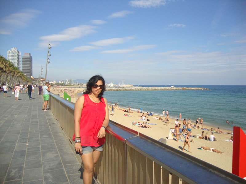 La Mar Bella beach is must visit Barcelona Beaches