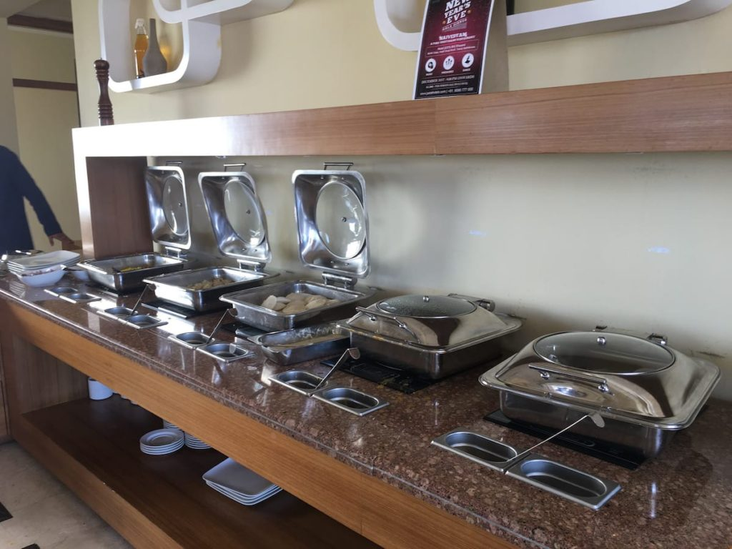 Breakfast Buffet at Justa Resorts, Bets place to stay at Nathdwara