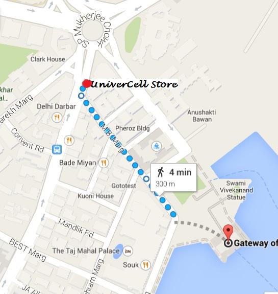 Walking Distance from Gateway