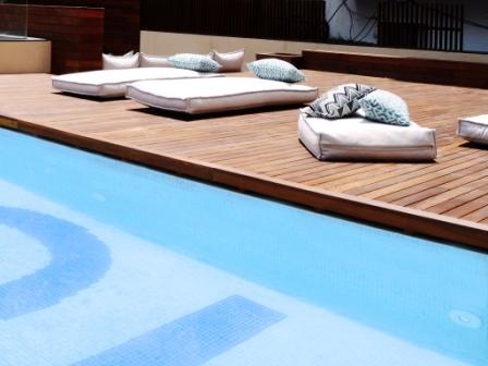 Terrace at Toc Hostel Barcelona