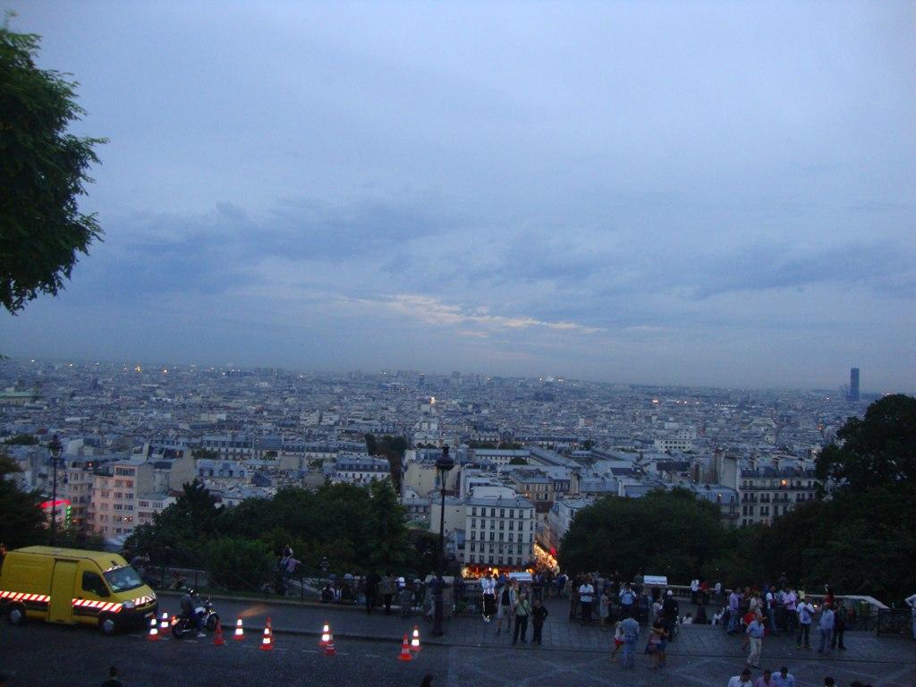 Sacre Coeur, Montmartre Paris at Twilight