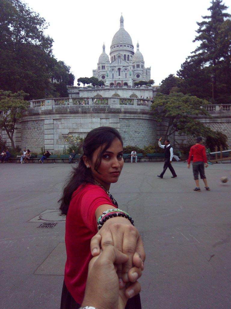 Sacre Coeur at Monmartre Paris