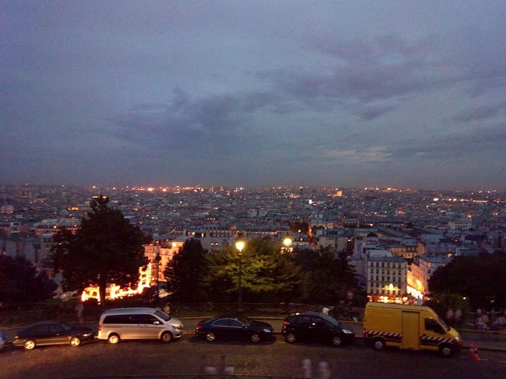 Paris by Night at Sacre Coeur