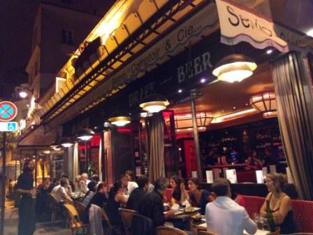 Dining in Montmartre Paris