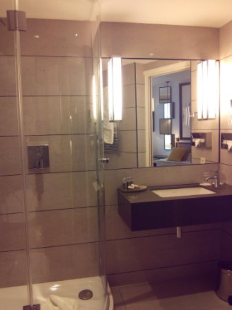 Shower in Bathroom, Hotel Balmoral Paris