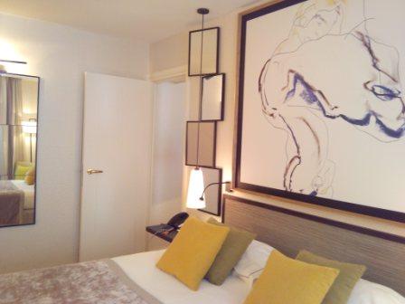 Suite Bedroom Hotel Balmoral Paris
