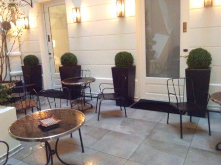 Open Restaurant Hotel Balmoral Paris
