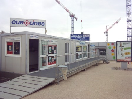 Eurolines Montpellier Office to take Eurlolines Barcelona Bus