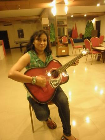 Guitar at Fun Zone Club Mahindra