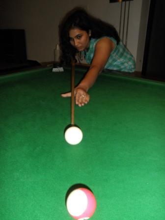 Billiards Table at Fun Zone Club Mahindra