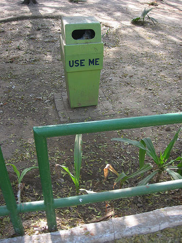 Unused Dustbin