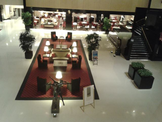 Lobby of the oberoi, best restaurants in mumbai