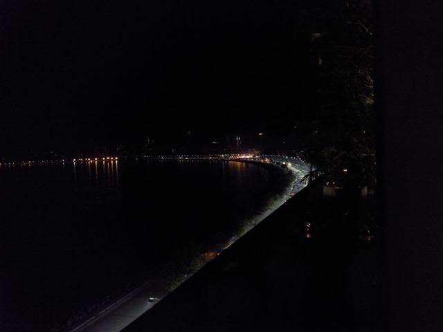 Views of Marine Drive from best restaurants in mumbai