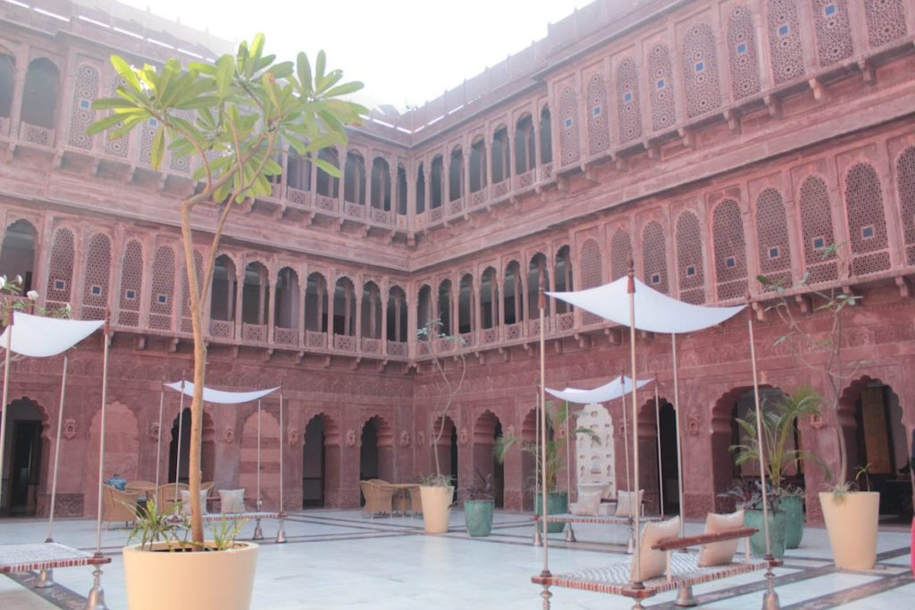 Diwali Chowk at Narendra Bhawan, Best place to stay in Bikaner