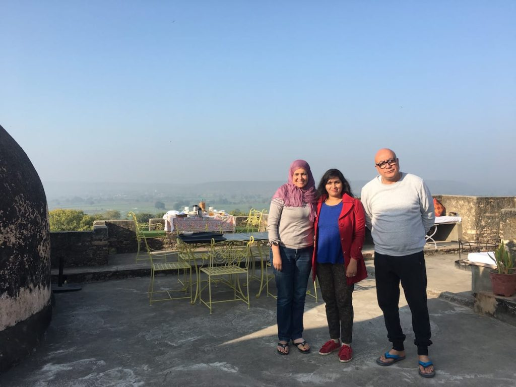 Rooftop Restaurant for Breakfast and Dinner at Bhainsrorgarh hotels in fort