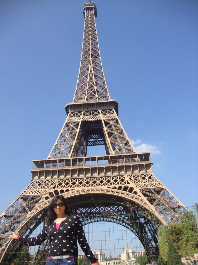 Eiffel Tower on a 3 day trip to Paris