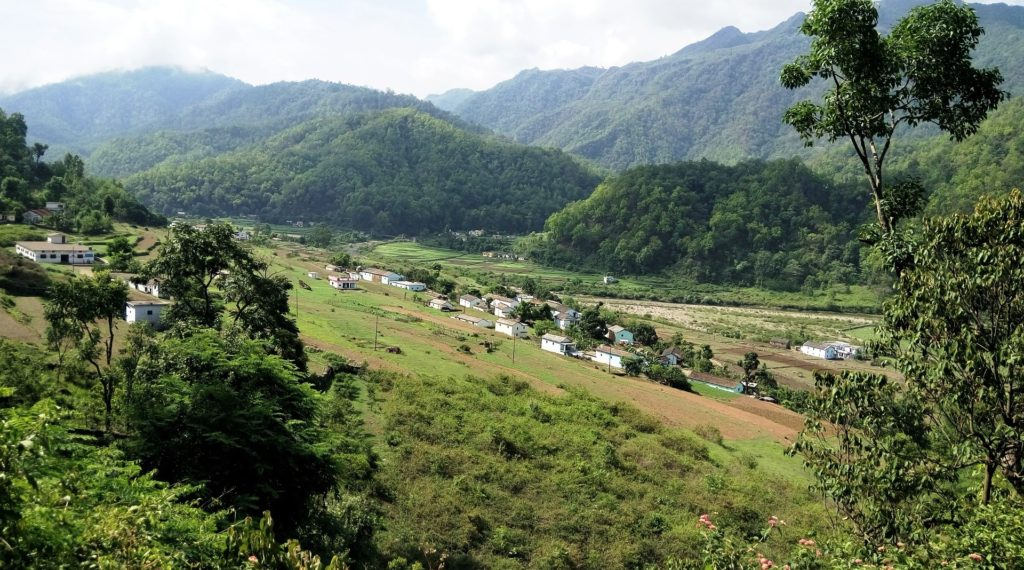 Mussoorie landscape grennery
